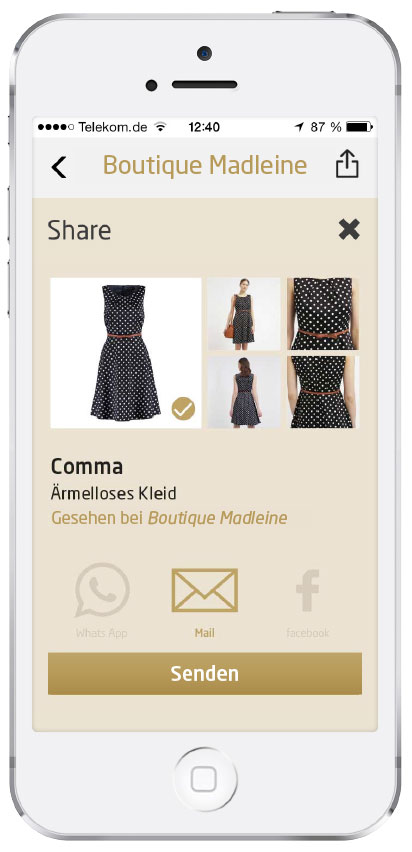 Fashboom Feature Sharing